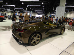 New Chevrolet 2020 Corvette - OC Auto Show